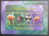 Poštovní známka Papua Nová Guinea 2008 Tradiční účesy Mi# Block 64