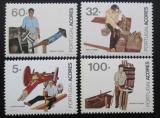 Poštovní známky Azory 1990 Zaměstnání Mi# 411-14