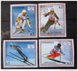 Poštovní známky Paraguay 1990 ZOH Albertville Mi# 4471-74