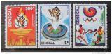 Poštovní známky Senegal 1988 LOH Soul Mi# 983-85