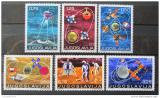 Poštovní známky Jugoslávie 1971 Vesmír Mi# 1409-14