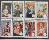 Poštovní známky Rwanda 1974 Umění Mi# 641-48