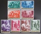 Poštovní známky Rwanda 1967 Umění Mi# 218-25