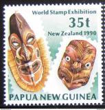 Poštovní známka Papua Nová Guinea 1990 Masky Mi# 622