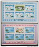 Poštovní známky Dominika 1974 Století UPU Mi# 417-18