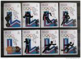 Poštovní známky Belize 1979 ZOH Lake Placid Mi# 443-50