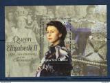 Poštovní známka Papua Nová Guinea 2003 Královna Alžběta II. Mi# Block 25