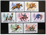 Poštovní známky Maďarsko 1980 LOH Moskva Mi# 3433-39