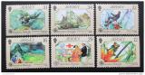 Poštovní známky Jersey 1988 Průzkumné operace Mi# 447-52