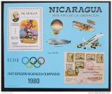 Poštovní známka Nikaragua 1980 LOH Moskva Mi# Block 111 Kat 40€
