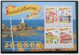 Poštovní známka Jersey 1990 Festivaly Mi# Block 5