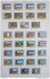 Poštovní známky Panama 1980 LOH Moskva, zlatý přetisk Mi# Kat 30€
