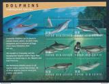 Poštovní známky Papua Nová Guinea 2003 Delfíni Mi# 1031-36