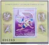 Poštovní známka Rumunsko 1980 LOH Moskva Mi# Block 171