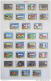 Poštovní známky Panama 1980 LOH Moskva, stříbrný přetisk Kat 30€