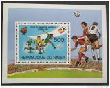 Poštovní známka Niger 1981 MS ve fotbale Mi# Block 34