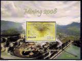 Poštovní známka Papua Nová Guinea 2008 Těžba zlata Mi# Block 70