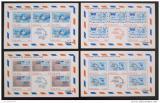 Poštovní známky Ghana 1974 Století UPU Mi# 548-51 Bogen