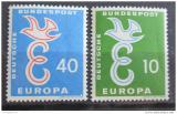 Poštovní známky Německo 1958 Evropa CEPT Mi# 295-96