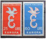 Poštovní známky Itálie 1958 Evropa CEPT Mi# 1016-17