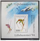 Poštovní známka Tanzánie 1994 ZOH Lillehammer Mi# Block 239