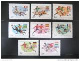 Poštovní známky Maďarsko 1978 MS ve fotbale Mi# 3284-91
