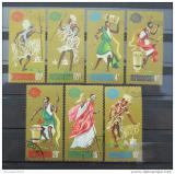 Poštovní známky Burundi 1964 Tanečníci Mi# 109-15