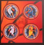 Poštovní známky Guinea-Bissau 2013 Basketbal Mi# 6946-49