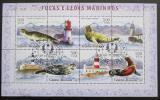 Poštovní známky Guinea-Bissau 2006 Tuleni a majáky Mi# 3411-14