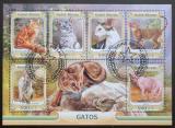 Poštovní známky Guinea-Bissau 2016 Domácí kočky