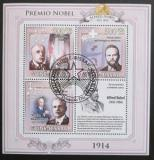 Poštovní známky Guinea-Bissau 2009 Nobelova cena 1914 Mi# 4538-40