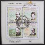 Poštovní známky Guinea-Bissau 2009 Nobelova cena 1915 Mi# 4541-44