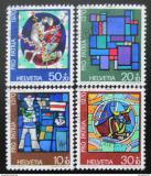 Poštovní známky Švýcarsko 1970 Náboženské umění Mi# 925-28
