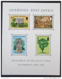 Poštovní známky Guernsey 1975 Exil Victora Huga Mi# Block 1