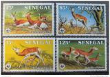 Poštovní známky Senegal 1986 Gazely, WWF Mi# 875-78
