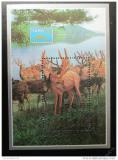 Poštovní známka KLDR 1993 Jelen Sika Mi# Block 289