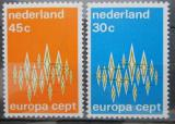 Poštovní známky Nizozemí 1972 Evropa CEPT Mi# 987-88