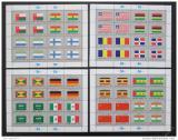 Poštovní známky OSN New York 1985 Vlajky Mi# 472-87