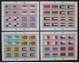 Poštovní známky OSN New York 1981 Vlajky Archy Mi# 373-88