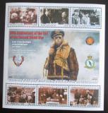 Poštovní známky Gambie 2005 Druhá světová válka Mi# 5531-36