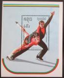 Poštovní známka Kambodža 1989 ZOH Albertville Mi# Block 165