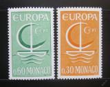 Poštovní známky Monako 1966 Evropa CEPT Mi# 835-36