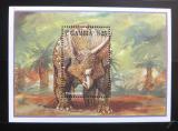 Poštovní známka Gambie 1995 Triceratops Mi# Block 248