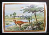 Poštovní známka Gambie 1995 Bactrosaurus Mi# Block 245