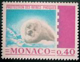 Poštovní známka Monako 1970 Tuleň Mi# 959