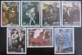 Poštovní známky Kambodža 1985 Umění Mi# 680-86