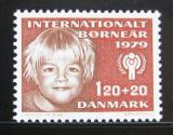 Poštovní známka Dánsko 1979 Mezinárodní rok dětí Mi# 676