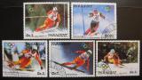 Poštovní známky Paraguay 1987 ZOH Calgary Mi# 4175-79