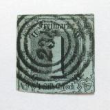 Poštovní známka Thurn a Taxis 1853 Nominální hodnota Mi# 11 Kat 18€