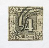 Poštovní známka Thurn a Taxis 1864 Nominální hodnota Mi# 26 Kat 50€